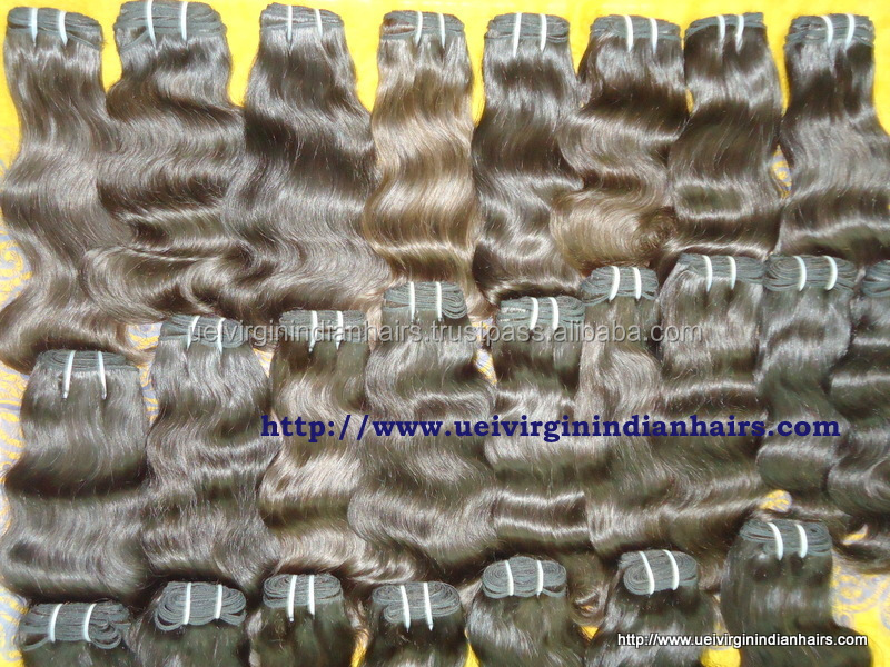Alibaba India, Cheap Human Hair Bundles Buying Indian Hair In India, 8A 100% Virgin Indian Human Hair