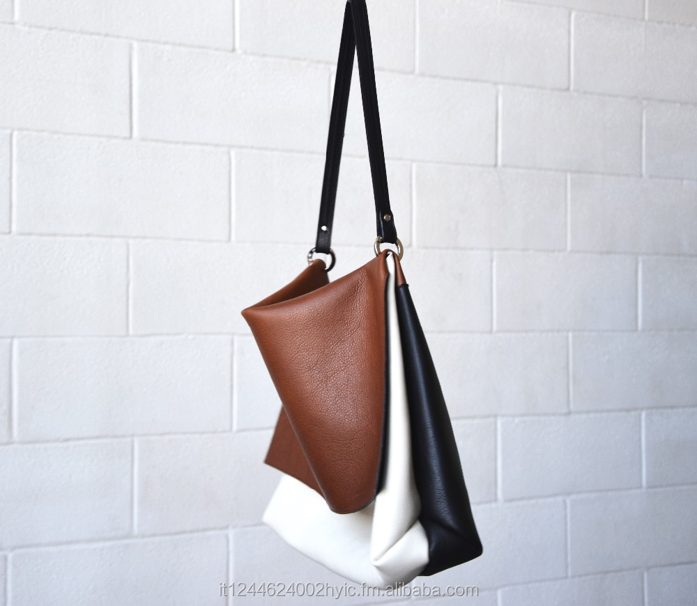 soft leather woman handbag shoulder