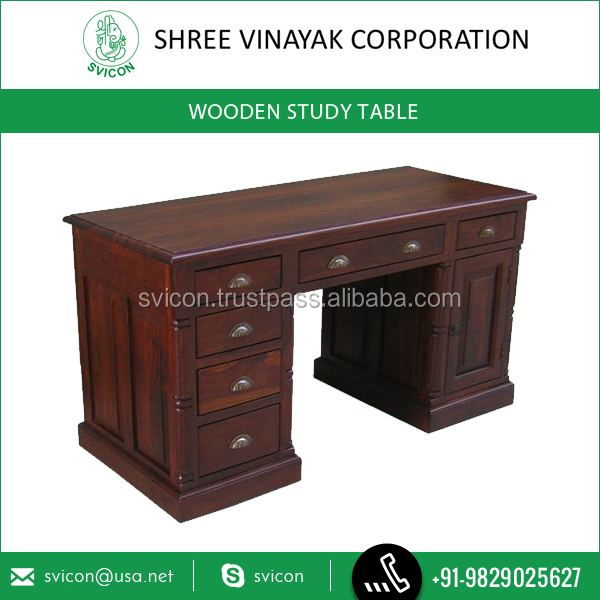 Best Buy of Premium Grade Wooden Study Table at Considerable Price