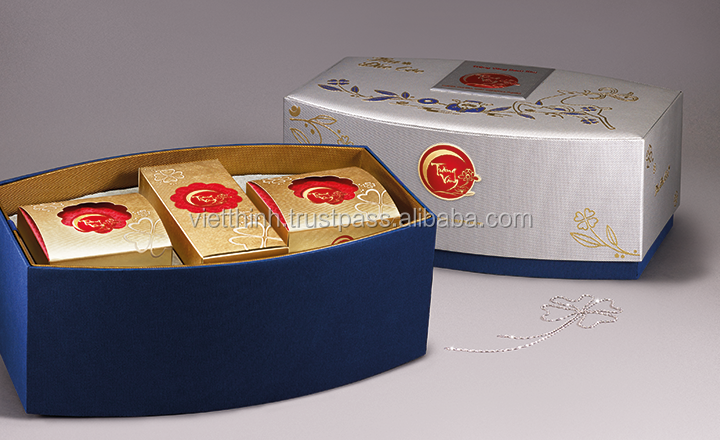 2016 NEWEST MOONCAKE TIN METAL BOXPACKAGING / Paper moon cake boxes for sale