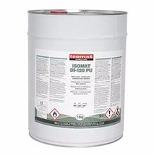 One component transparent polyurethane impregnation for sealing concrete floors or cement