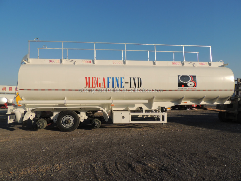 HCSV 3 axle 5 compartments 45000L -55000L steel fuel tanker semi trailers