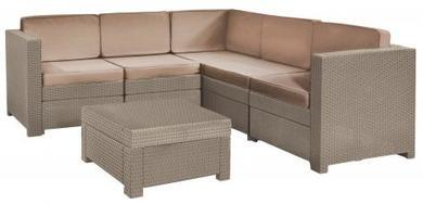 KETER Provence Poly Rattan Garden Furniture Set -20%!!!