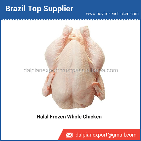 Fresh Halal Whole Frozen Chicken