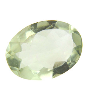 8.27 Ct Certified Oval Mixed Natural Greeen Amethyst Gemstone