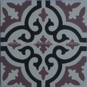 200x200mm decorative building materials, handmade vietnamese cement tile