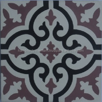 200x200mm decorative building materials, handmade vietnamese cement tile