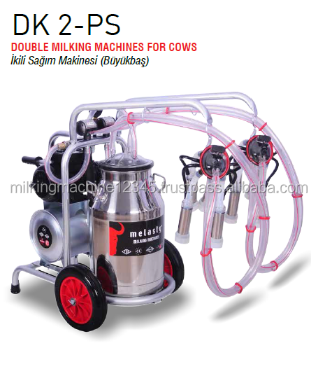 Milking Machine - Melasty Double Milking for Cows - Electrical