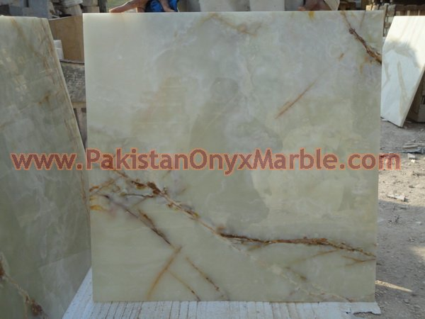 EXPORTER OF LIGHT GREEN ONYX TILES COLLECTION