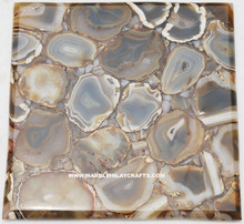 Top Quality Natural Stone Agate Floor Tile