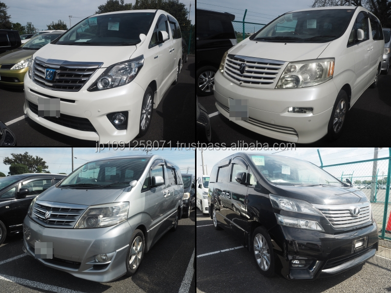 Durable used toyota alphard at reasonable prices long lasting