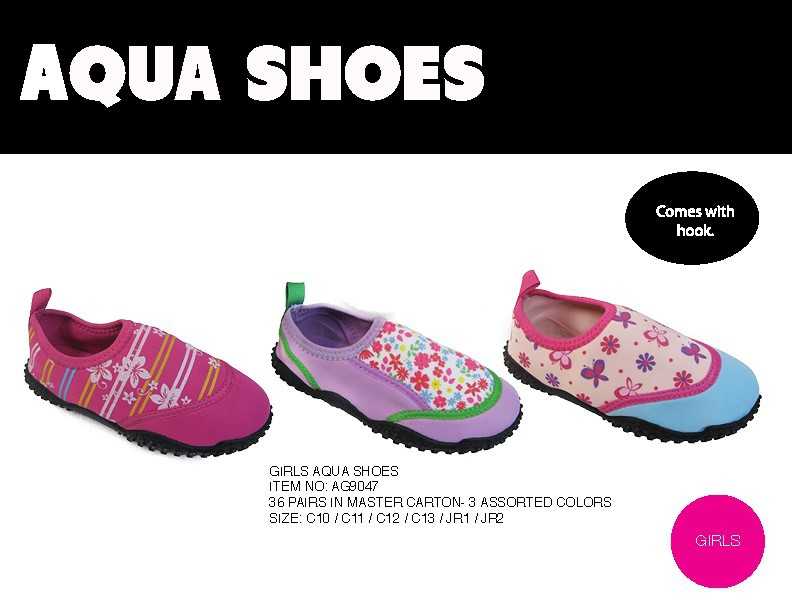 GIRLS AQUA SHOES #AG9047
