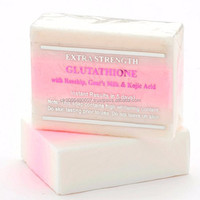 GLUTATHIONE, GOAT'S MILK, ROSEHIP, AND KOJIC ACID WHITENING SOAP W/ EXTRA STRENGTH