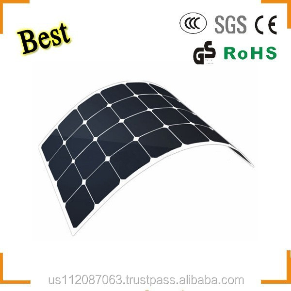 2017 newest amorphous silicon thin film flexible solar panel