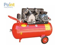Portable Air Compressor 1.5 HP 100 Lt Tank