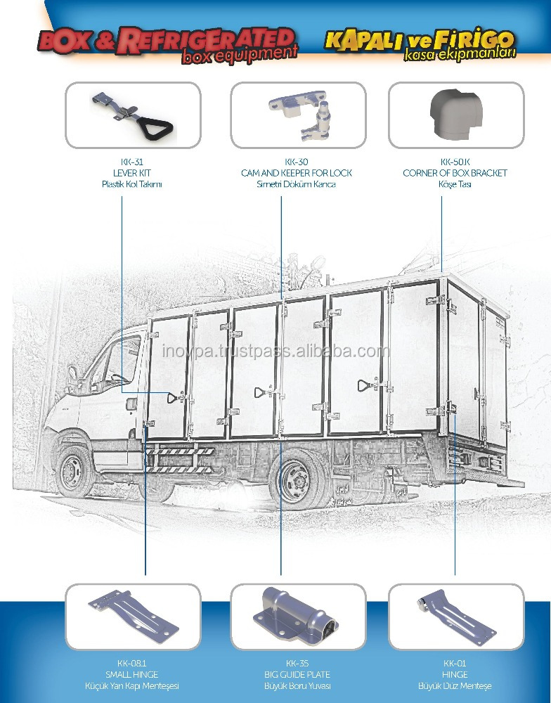 refrigerated truck body,dry box truck body,truck body parts refrigerator truck