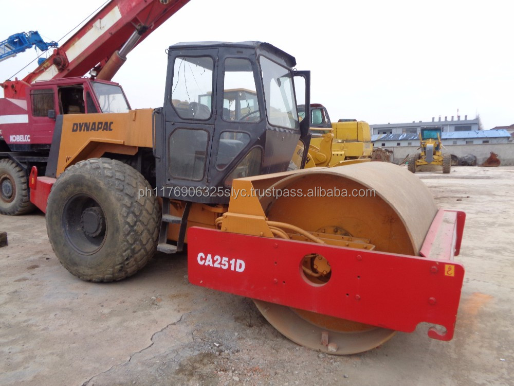Used /second hand dynapac CA251D road roller /compactor roller /vibration road roller