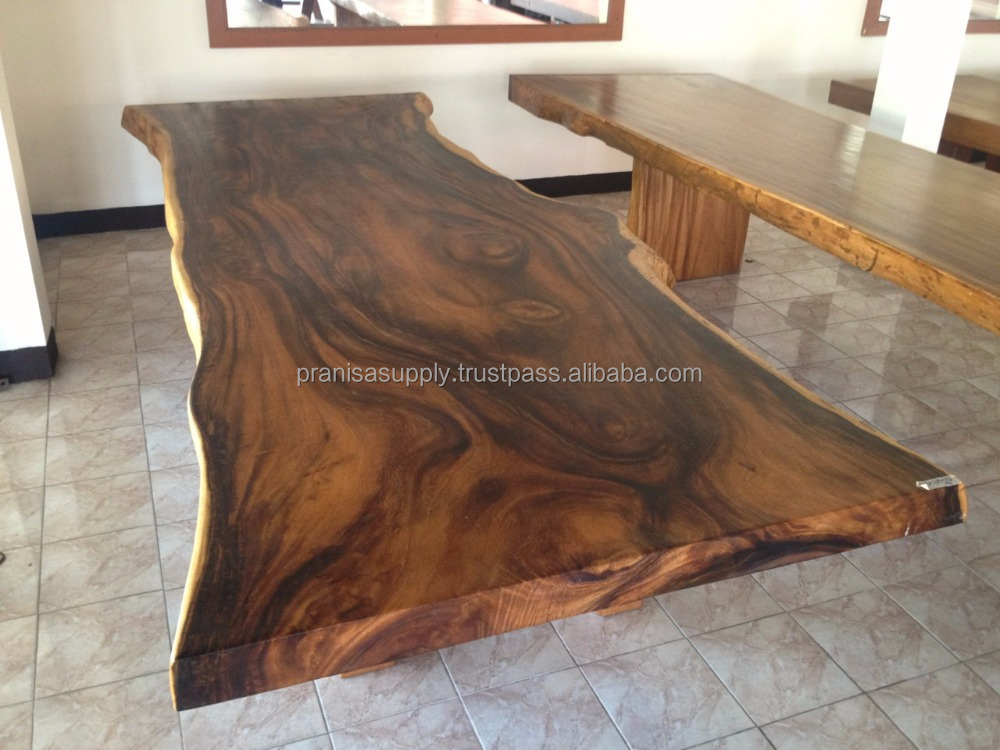 Acacia Wood Slab High Quality from Thailand