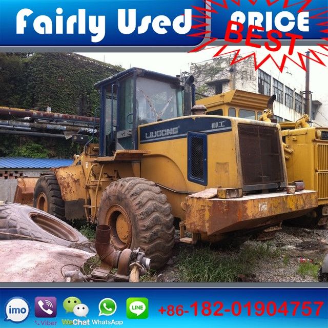 Liugong Front Loader Tractor CLC856 of LiuGong used wheel loader CLC856