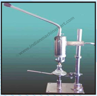 Manual Hand Operated Perfume Crimping Machine (Made In India) Durable Fully Automatic Electrical Wire Low Price High Quality