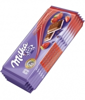 milka all flavours raspberry , Caramel , Oreo ,Raisins , Cherry 100g