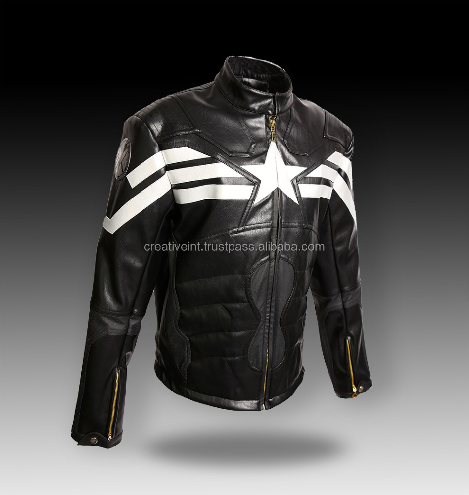 creative international wholesale leather jackets 2017/motorcycle racing leather jacket/wholesale leather jacket