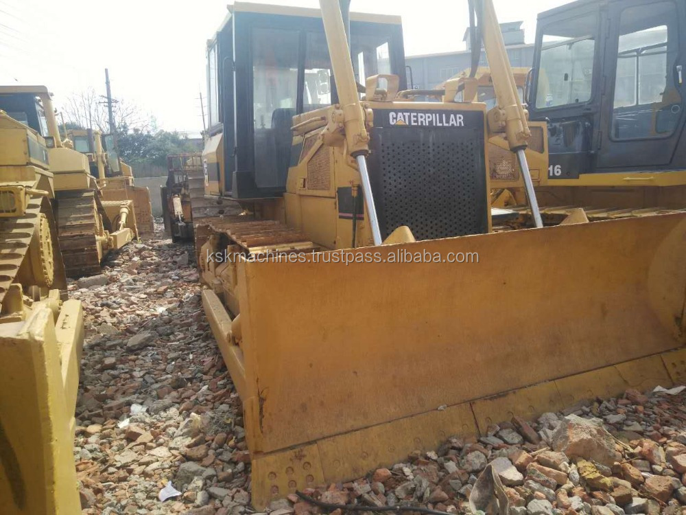 D6C cheap selling used caterpillar bulldozer for sale D6D dozer D6H D6G D6R used cat dozers for sale