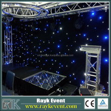 Sky Lighting Fiber Optic event decoration inflatable star Led Stage Lighting