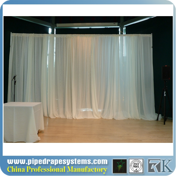 pipe and drape in wedding tent supplies backdrop curtain trade show photo booth