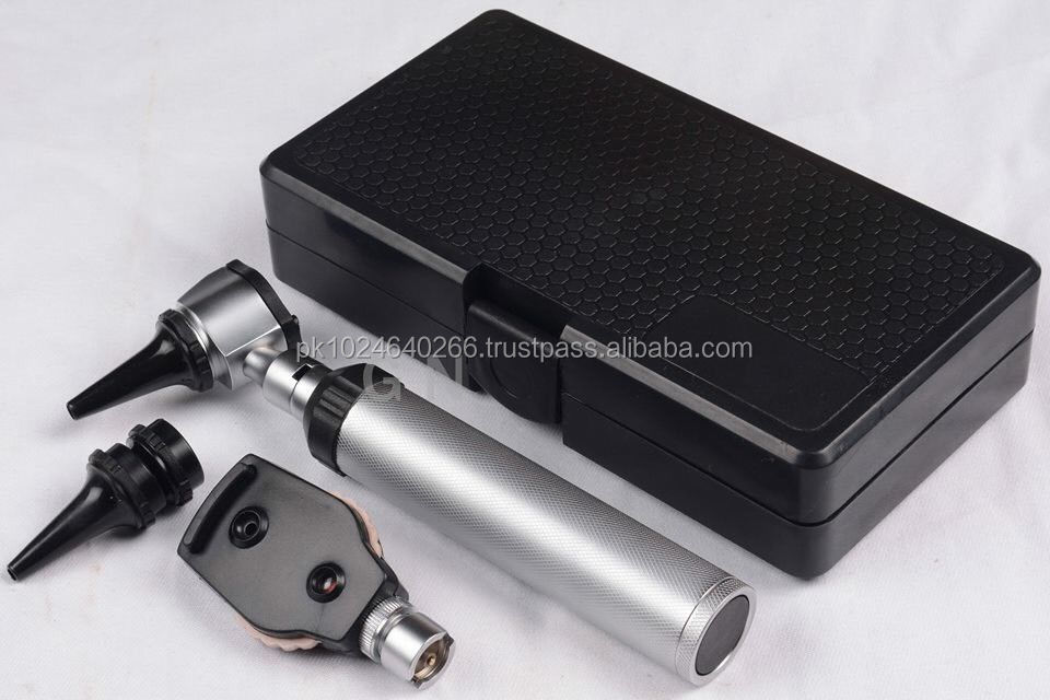 ENT Ophthalmoscope Opthalmoscope Otoscope Diagnostic Set Led Light