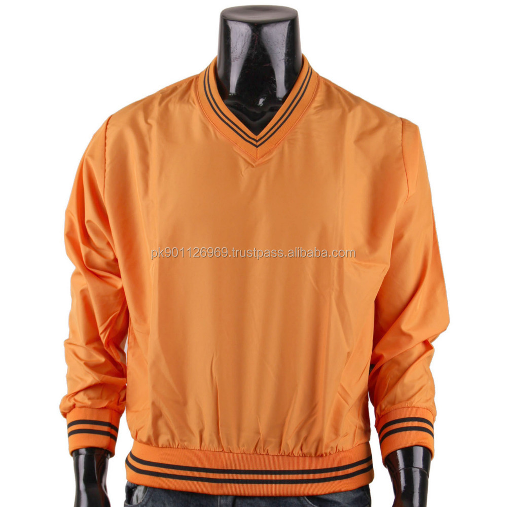 custom design satin silk v neck sweatshirts men pullover slim varsity jackets