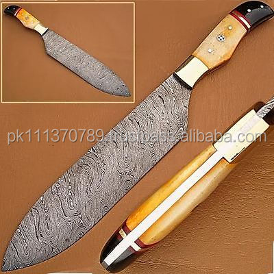 Damascus Hunting Chef knife