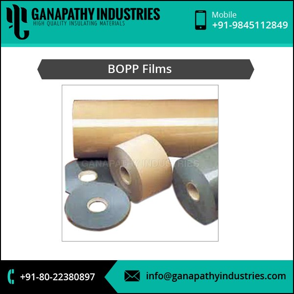 High Demanded Flexible Plastic BOOP Film for CDs and DVDs Packing