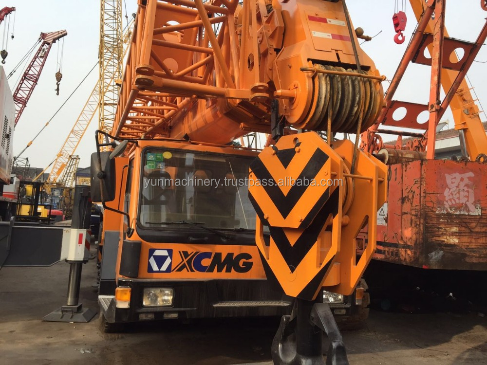Used XCMG truck crane 130 t for sale, QY130K, good condition