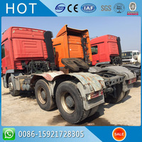 6X4 Original Germany Actros 33000kg Used Tractor Truck Head 3344 For Sale