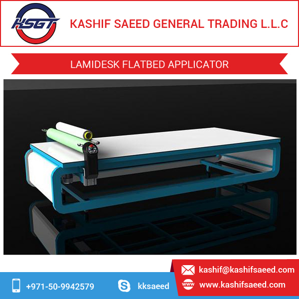 Flatbed Laminator for Traffic Signs/Road Signs/Vinyl Application