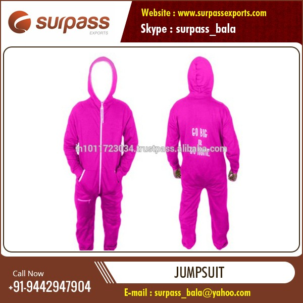 Wholesale Manufacturer of High Quality Comfort Fit Jumpsuit