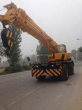 used /secondhand Liebherr 50 Tons Low Fuel Consumption for Mobile Crane for Sale in shanghai
