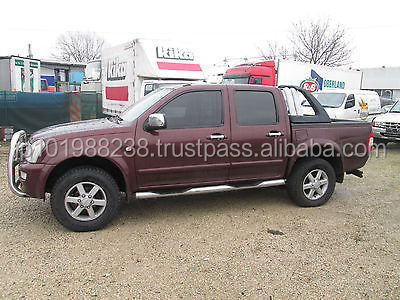 USED PICKUP - ISUZU D-MAX 4X4 DOUBLE CAB (LHD 8684)