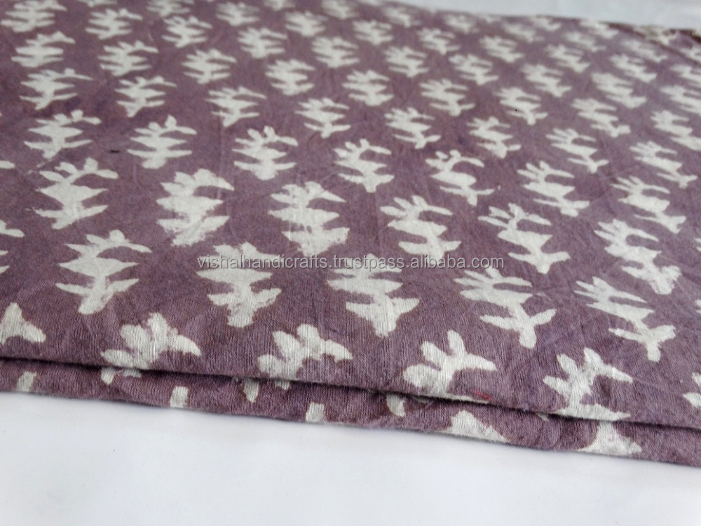 Hand Block Printed Garment fabric__New Sanganeri cotton Bolck Print Fabric For Garment making_Wholeseller Block Print fabric