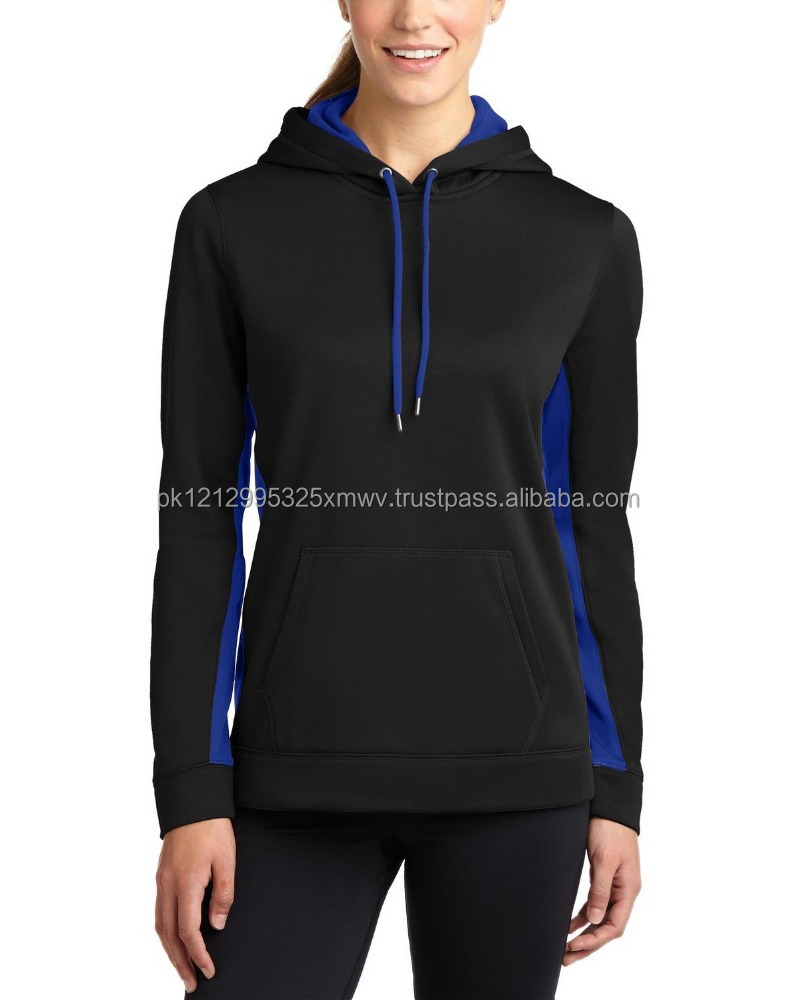 Branded 100% polyester high quality lady Hoodie