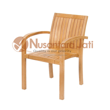 Stacking Chair Teak Outdoor Patio Furniture