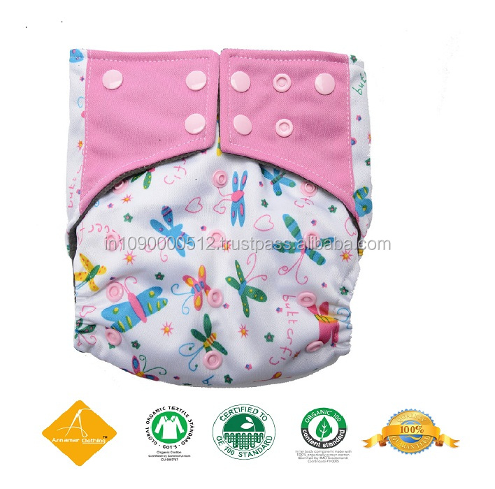 Custom Baby Cloth Diapers made in India