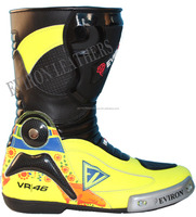 New Motorcycle Protective Leather Boots-EV Design
