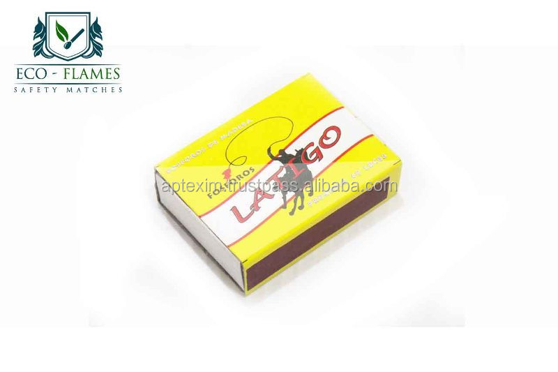 Cardboard Safety Match Box for Household and Lighting Cigarettes