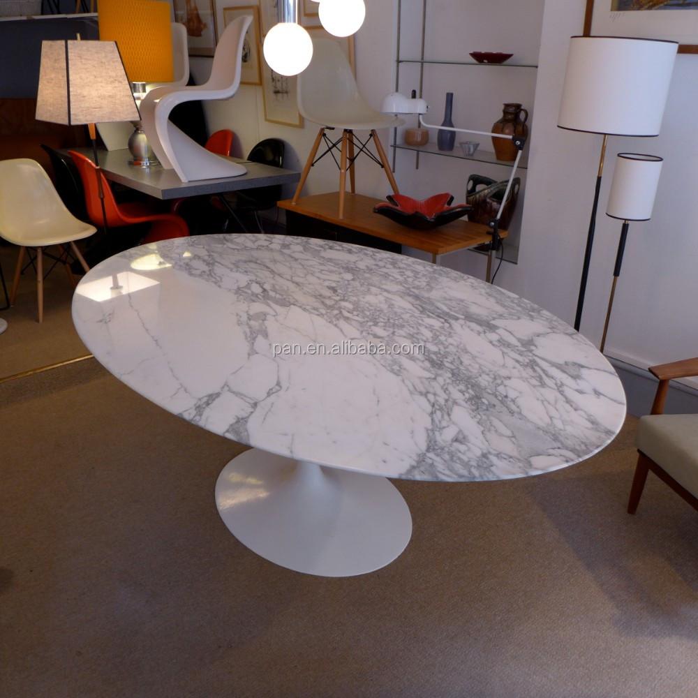 Replica Stilnovo Saarinen Inspired Real Marble Tulip Oval Coffee Table Buy Saarinen Inspired