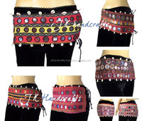 Afghan Belly Dance Belts Tribal Banjara Belts Girl's Designer Belts