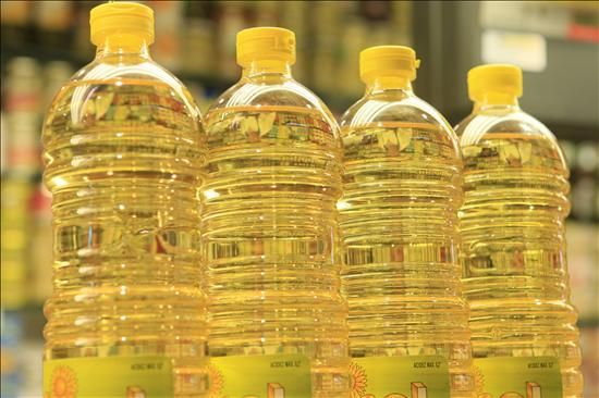 Pure Refined Sunflower Oil and Vegetable Oil