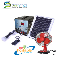30W DC Portable Solar Kit