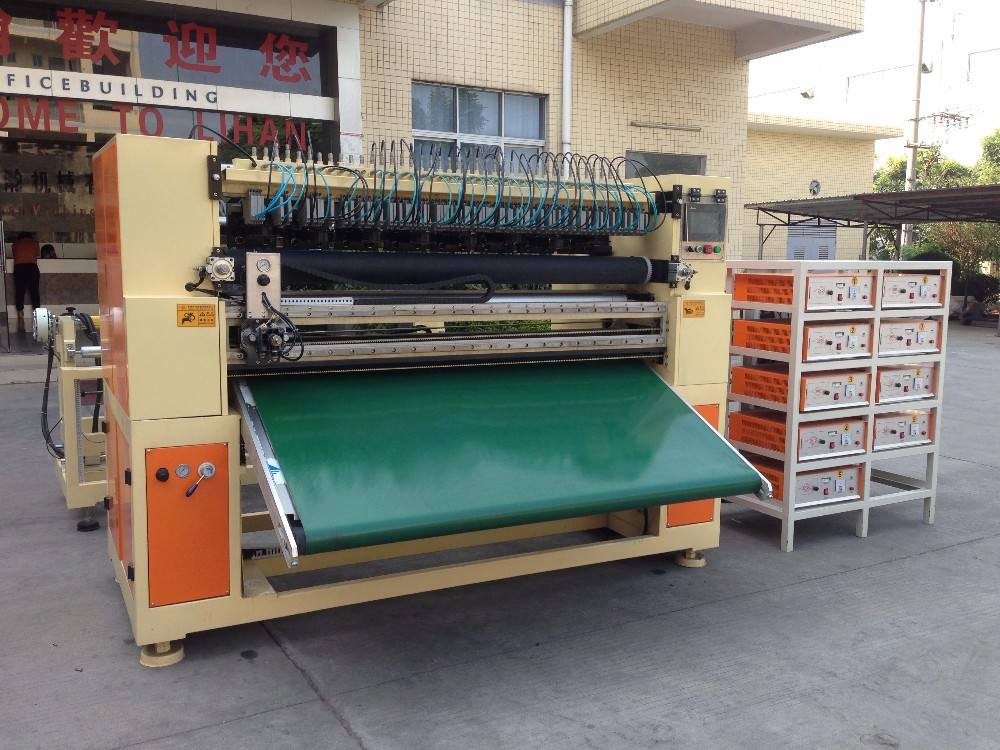 fully automatic mop cloth slitting and rewinding machine